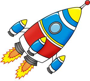 Картинки мультяшная ракета